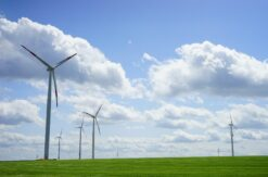 Änderungsantrag der Firma JUWI nach § 16 BlmSchG auf Genehmigung zur Errichtung und zum Betrieb von einer Windenergieanlage.